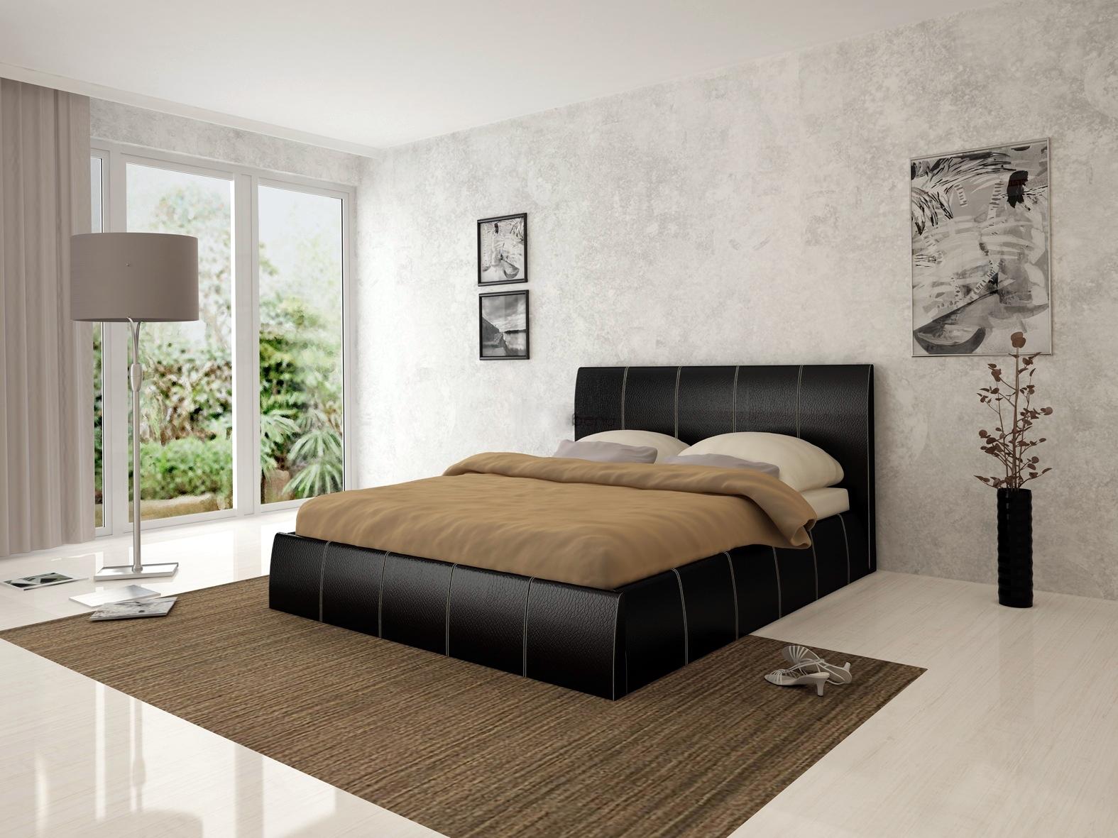 eb7f0da0557 Тапицирана спалня Капри + амортисьорен механизъм | Варна Мебел